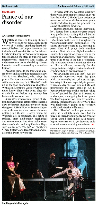 """The Economist February 24th 2007 