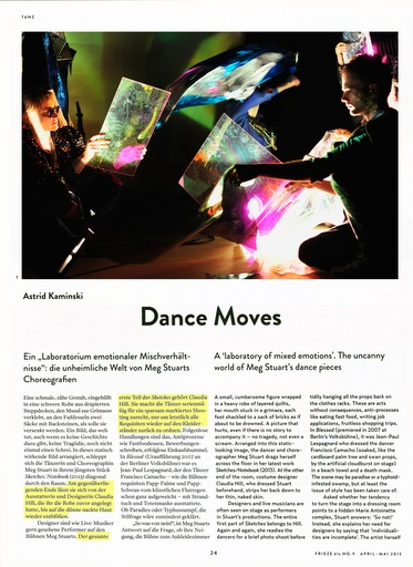 Page 24 of the May 2013 Issue of Frieze