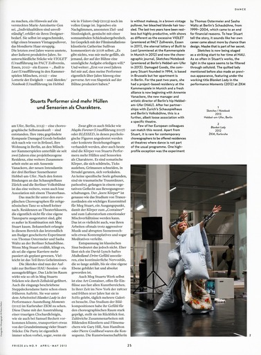 Page 25 of the May 2013 Issue of Frieze