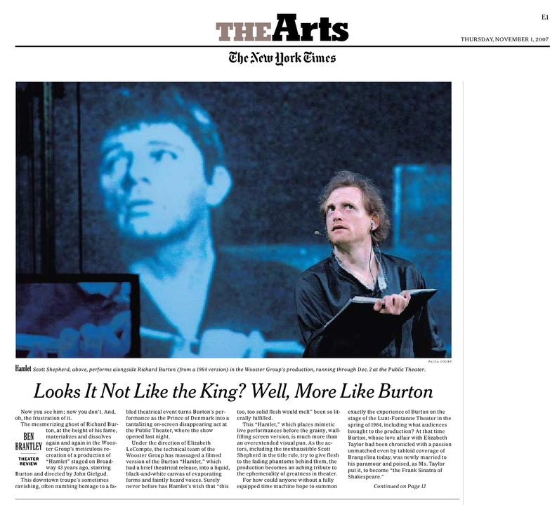 """Looks It Not Like the King? Well, More Like Burton 